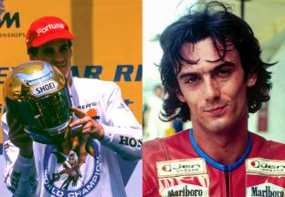 Alex Criville and Franco Uncini become MotoGP™ Legends