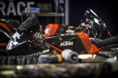 A day of learning for KTM in Brno test