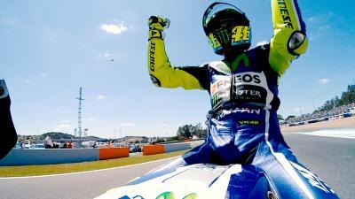 Así va la temporada: El trabajo duro recompensa a Rossi