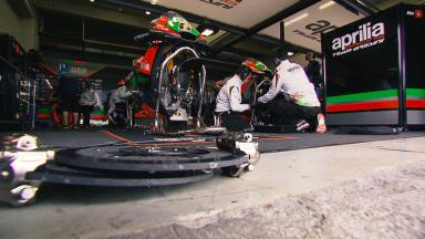 Workshop: Aprilia assess their progress in 2016