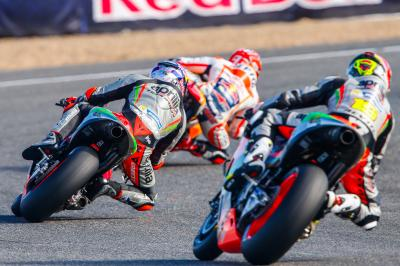 Seconda gara europea per Aprilia