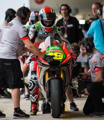Aprilia assess their progress in 2016