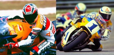 Alex Criville and Franco Uncini become MotoGP™ Legends