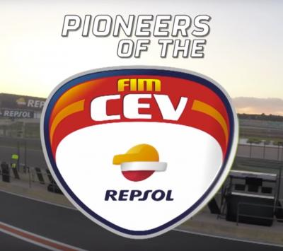 Pioneers of the FIM CEV Repsol