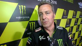 Monster Yamaha Tech 3's Team Principal Herve Poncharal discusses singing Jonas Folger for the 2017 MotoGP™ season.