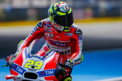 "Iannone: ""Last year it was a positive race"""