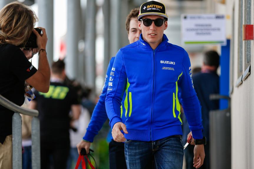 Aleix Espargaro, Team SUZUKI ECSTAR, Jerez, Press Conference, Monster Energy Grand Prix de France