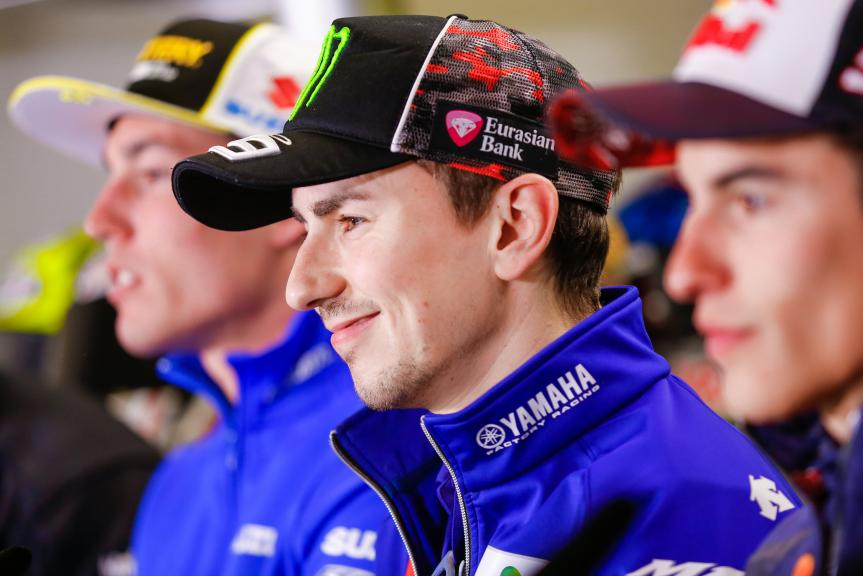 Jorge Lorenzo, Movistar Yamaha MotoGP, Press Conference, Monster Energy Grand Prix de France