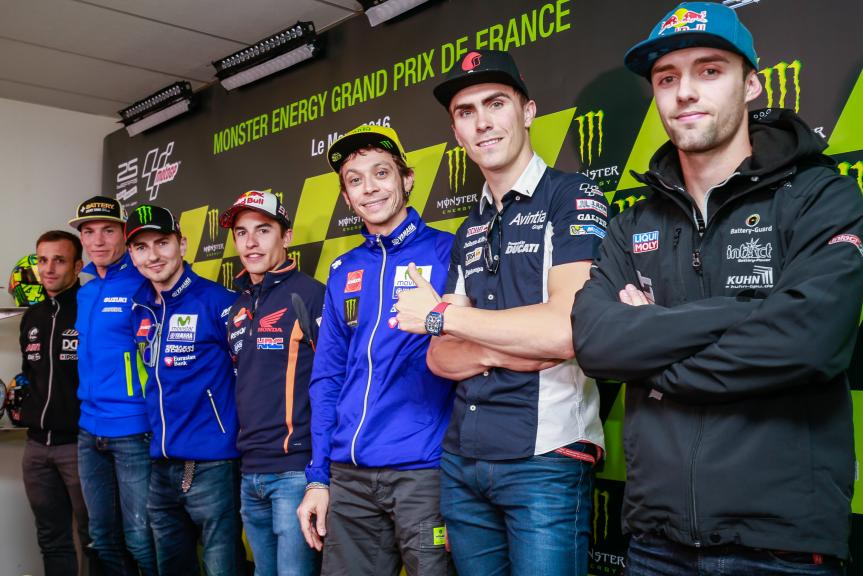 Press Converence Monster Energy Grand Prix de France