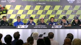 All of the action from the official opening press conference at the #FrenchGP.