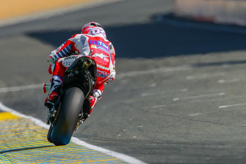 Andrea Dovizioso, Ducati Team, Monster Energy Grand Prix de France