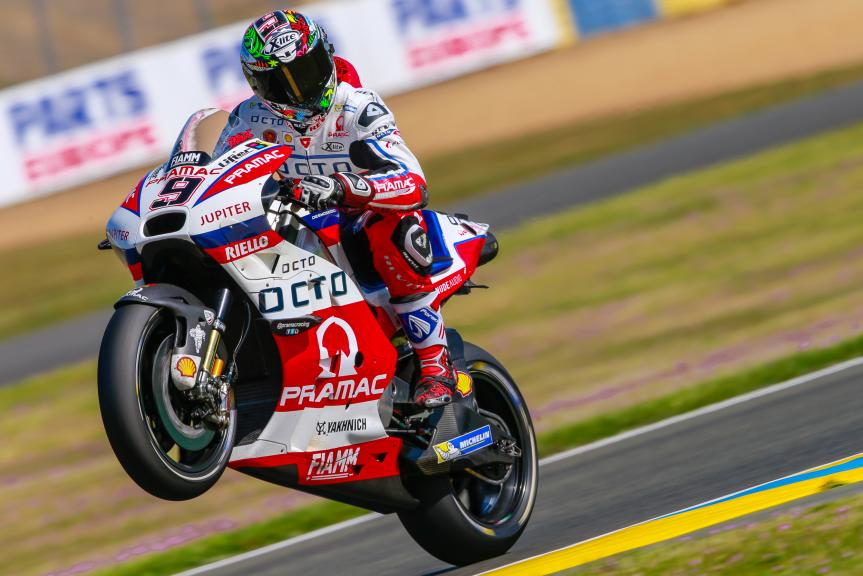 Danilo Petrucci, OCTO Pramac Yakhnich, Monster Energy Grand Prix de France