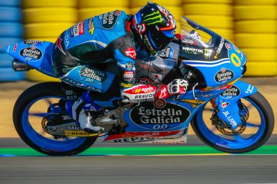 Navarro leads sunny Free Practice 1 in France