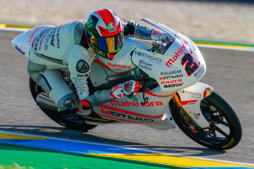 Francesco Bagnaia, ASPAR Mahindra Team Moto3, Monster Energy Grand Prix de France