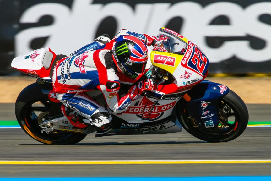 Sam Lowes, Federal Oil Gresini Moto2, Monster Energy Grand Prix de France