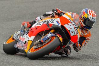 Pedrosa marca la pauta en la FP1 de MotoGP™