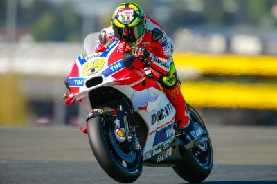 Iannone: «Michelin se está mostrando muy receptivo»