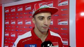 Andrea Iannone è secondo nelle libere del venerdì a Le Mans grazie a buon feeling con le nuove Michelin.