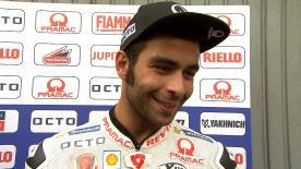 Danilo Petrucci erklärt, wie er sich nach den ersten 4 verpassten Rennen auf die Strecke zurück kämpfte.