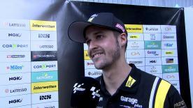 Thomas Lüthi erklärt den Schlüssel zum schnellen Fahren in Le Mans, nachdem er den Freitag als Zweiter beendet hat.