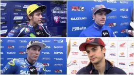 Die schnellsten MotoGP™ Fahrer haben die Ergebnisse des ersten Trainingstages beim #FrenchGP zusammengefasst.