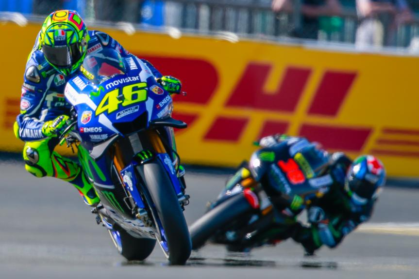 Valentino Rossi, Movistar Yamaha MotoGP, Bradley Smith, Monster Yamaha Tech 3, Monster Energy Grand Prix de France