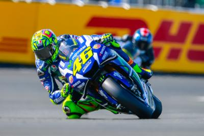 "Rossi: ""I wasn't fast enough"""