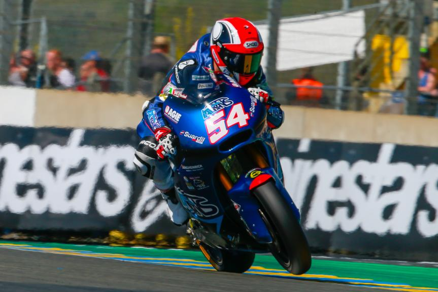 Mattia Pasini, Italtrans Racing Team, Monster Energy Grand Prix de France