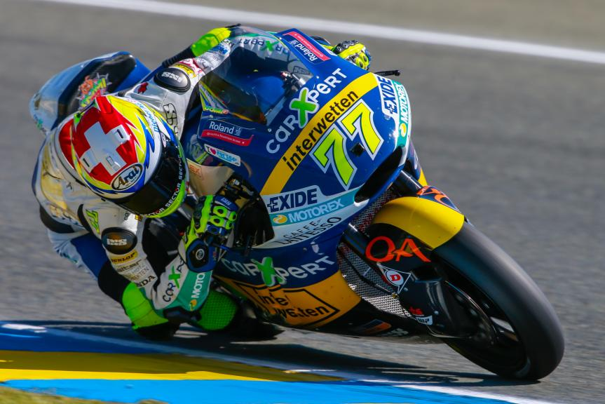 Dominique Aegerter, CarXpert Interwetten, Monster Energy Grand Prix de France