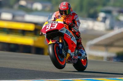 "Marquez: ""Today was demanding"""