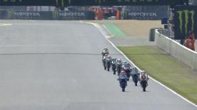 La seconda sessione di prove libere per la Moto3™ a Le Mans.