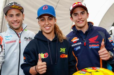 María Herrera presenta el equipo MH6 de Moto3™
