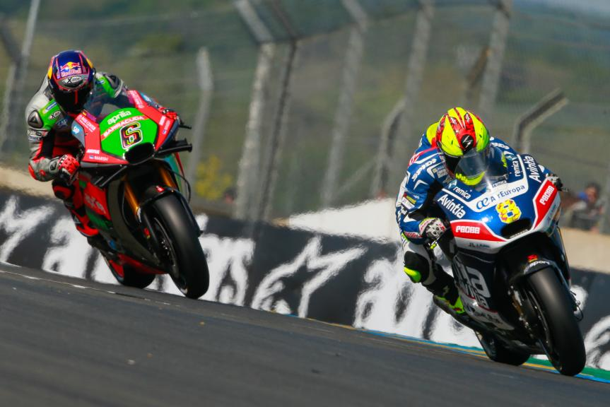 Stefan Bradl, Aprilia Racing Team Gresini,  Hector Barbera, Avintia Racing, Monster Energy Grand Prix de France