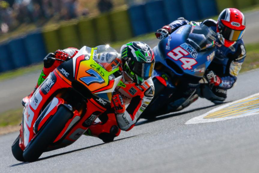 Lorenzo Baldassarri, Forward Team, Mattia Pasini, Italtrans Racing Team, Monster Energy Grand Prix de France