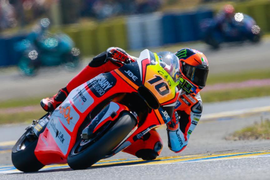 Luca Marini, Forward Team, Monster Energy Grand Prix de France