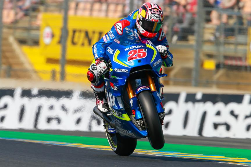 Maverick Viñales, Team SUZUKI ECSTAR, Monster Energy Grand Prix de Franc