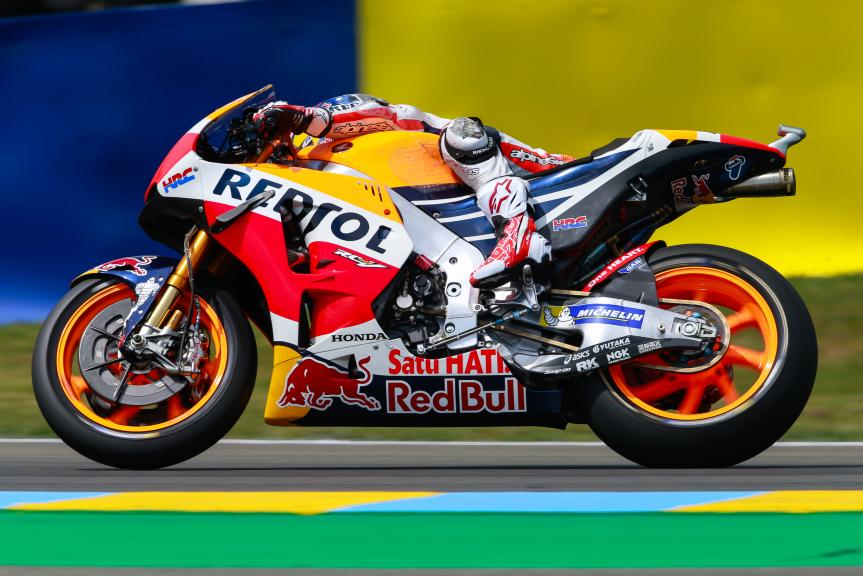 Dani Pedrosa, Repsol Honda Team, Monster Energy Grand Prix de France