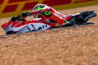 Iannone firma le libere a le Mans