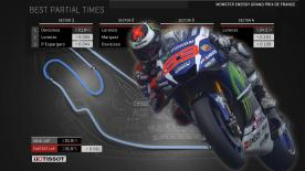 Find out what the ideal MotoGP™ lap from Q2 would have been around Le Mans.