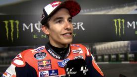 Il pilota Repsol Honda è secondo nella qualifiche, la pole di Lorenzo è inarrivabile