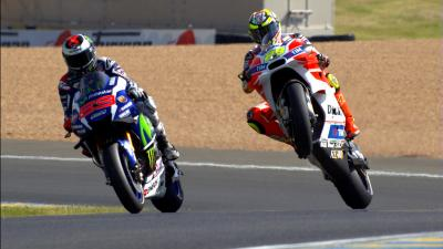 #FrenchGP MotoGP™ qualifying in slow motion detail