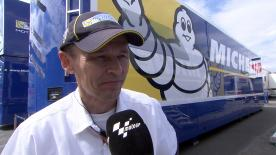 Michelin Racing's technical director Nicolas Goubert talks about their happiness over the record and the positive feedback from the riders.