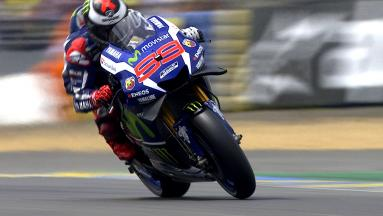 Lorenzo's record-breaking day at Le Mans