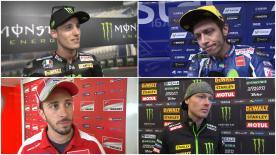 I protagonisti del MotoGP™ commentano i risultati delle qualifiche a Le Mans