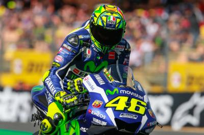 "Rossi: ""Unfortunately I made a lot of mistakes"""