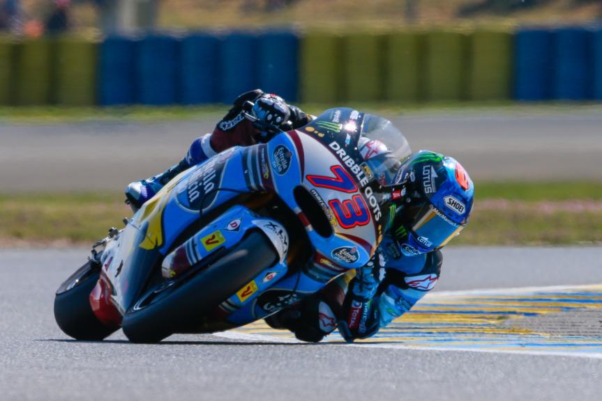 Alex Marquez, Estrella Galicia 0,0 Marc VDS, Monster Energy Grand Prix de France