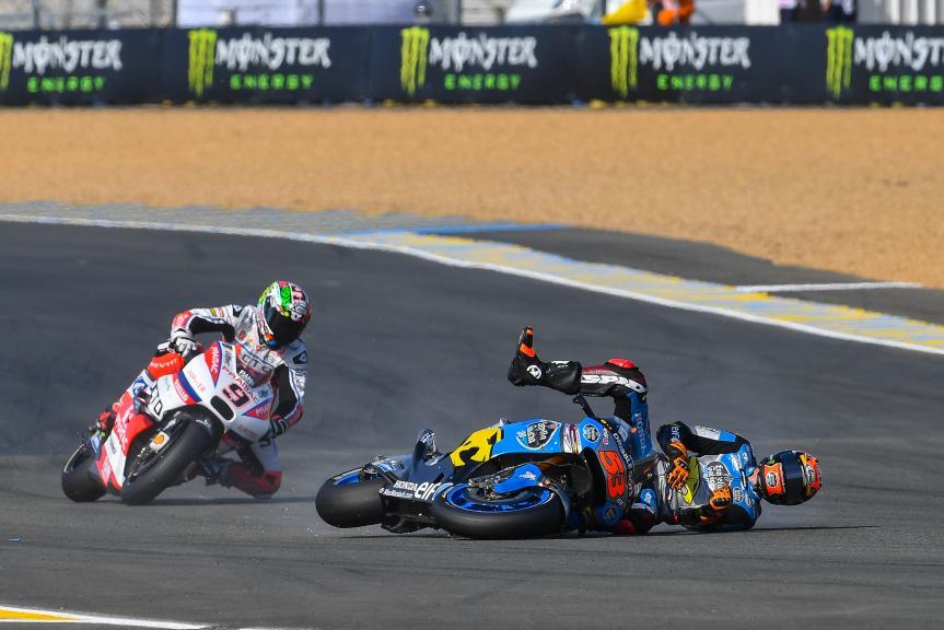 Tito Rabat, Estrella Galicia 0,0 Marc VDS, Danilo Petrucci, OCTO Pramac Yakhnich, Monster Energy Grand Prix de France