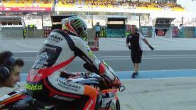 Moto2™: la terza sessione di libere a Le Mans.
