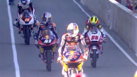 Moto3™: la terza sessione di libere a Le Mans.