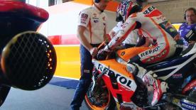 Vidéo intégrale de la quatrième séance d'essais de la catégorie MotoGP™ au Mans.